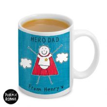 Purple Ronnie Super Hero Mug For Him
